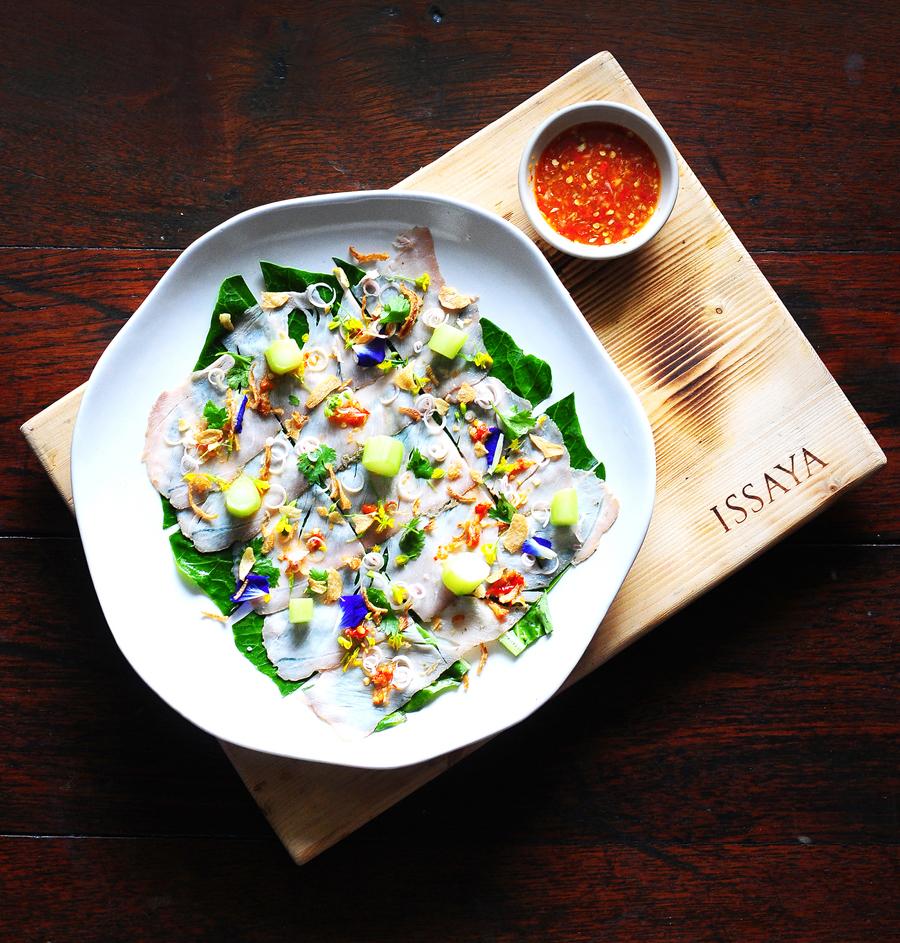Mu Sadung Mano (Pork Loin Salad)