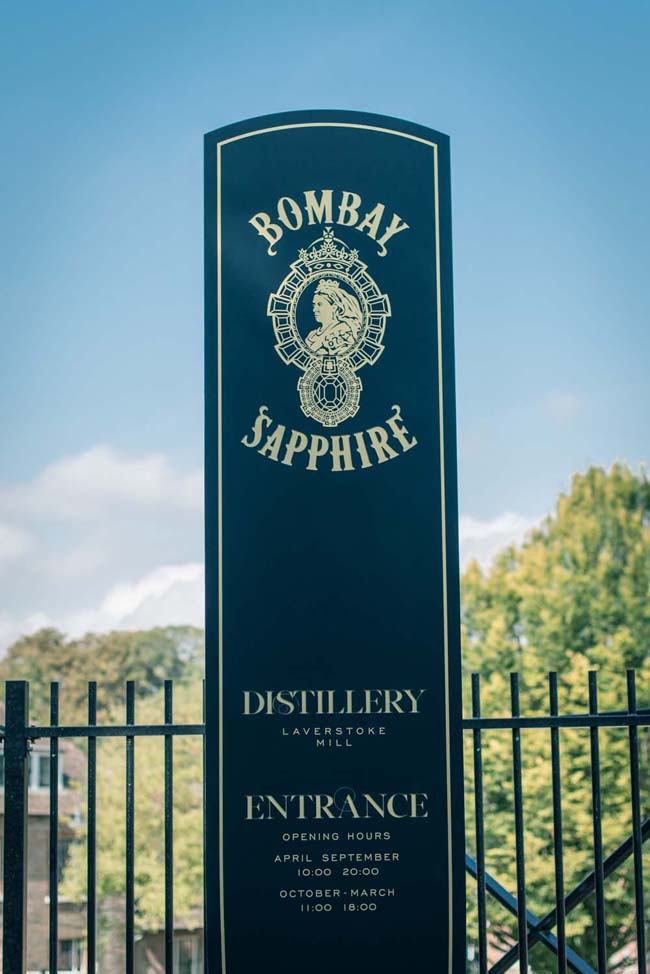The-entrance-to-the-Bombay-Sapphire-Distillery-at-Laverstoke-Mill