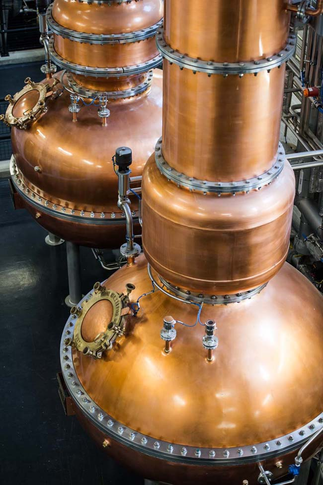 The-historical-Dakin-Stills-used-in-the-unique-Vapour-Infusion-process-at-Laverstoke-Mill