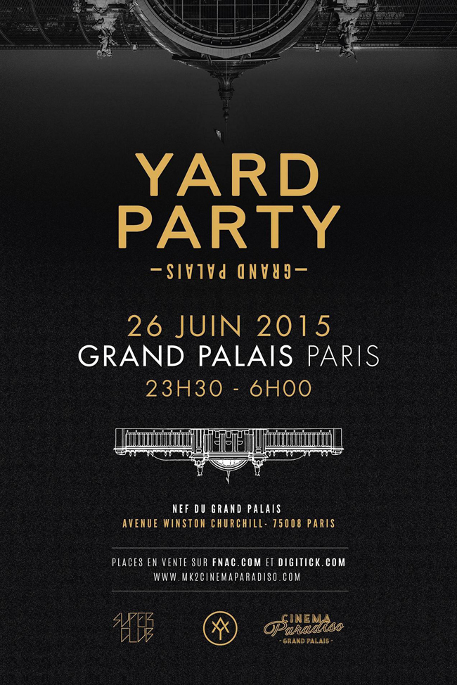 Yard Party - Cinema Paradiso - DEDICATE DIGITAL - MTRLST - MTRLSTDOTCOM - HARVEY AMBOMO