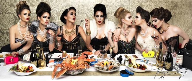 Luxury_Dinner_ phillipe shangti - L'Opera St Tropez - Dedicate Digital