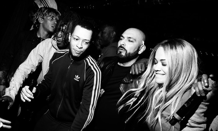 RITA ORA- LES BENJAMİNS PARTY at SİLENCİO