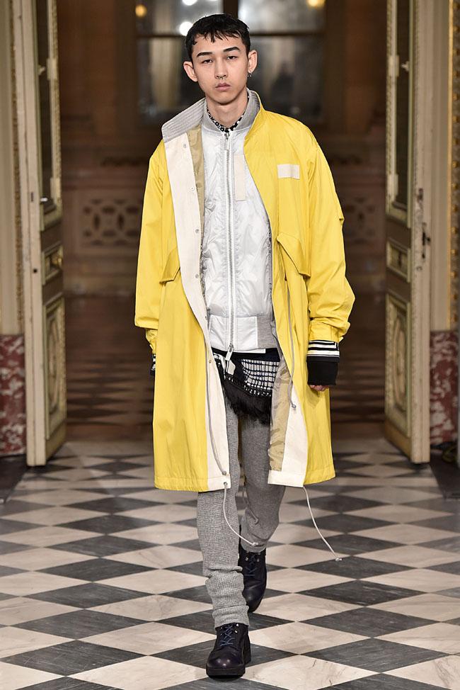 Sacai Paris Menswear Fall Winter 2016 January 2016