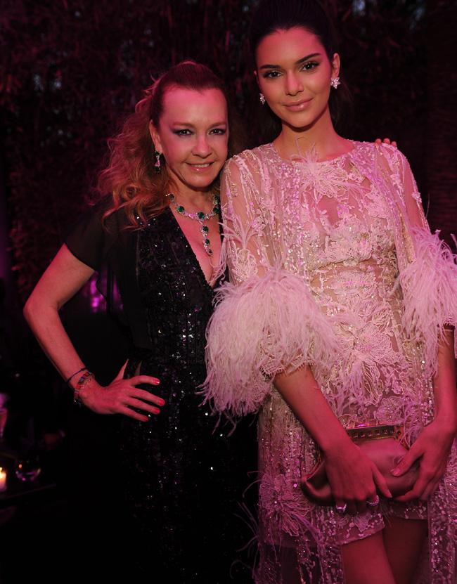 Caroline Scheufele and Kendall Jenner in Chopard - DEDICATE DIGITAL