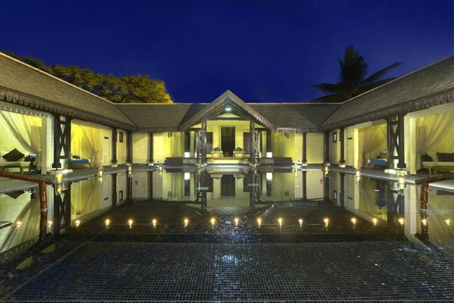 29 - Sofitel Mauritius L'Imperial Resort & Spa - SO Spa by night