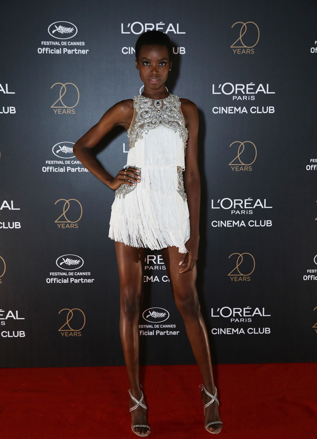 MARIA BORGES - L'oréal Paris Cinema Club Party | Cannes Film Festival