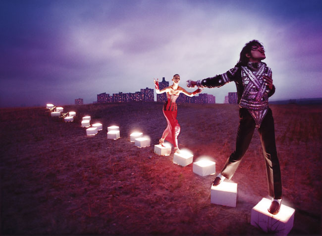 037_An Illuminating Path by David LaChapelle