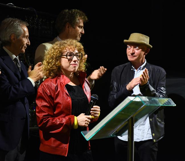 DEDICATE DIGITAL -Remise du Prix à Liv Schulman